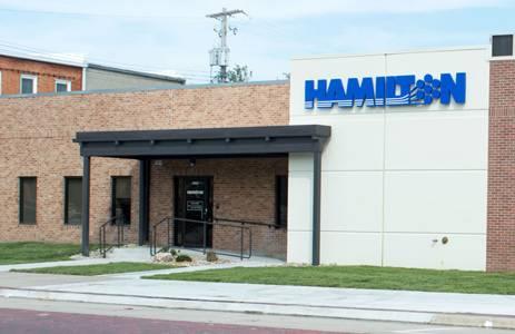 Hamilton building in Aurora, NE.