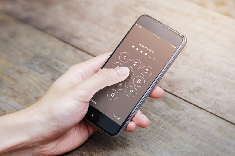Cell Phone Passcode Security